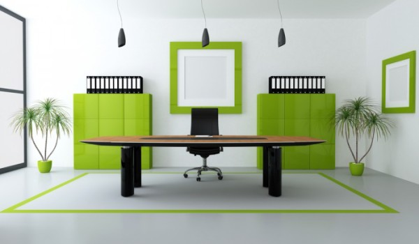 Impress your clients with a neat and tidy real estate office