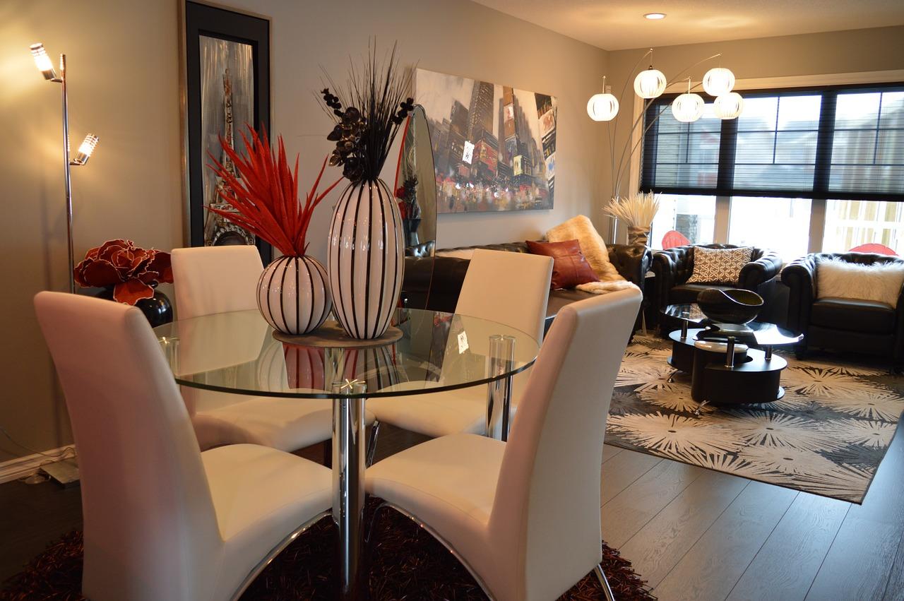 Luxury Apartment Dining - Living  Room