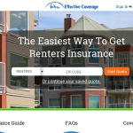 Effective Coverage makes renters insurance easier
