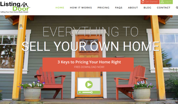 ListingDoor makes it easy to sell your home alone