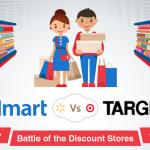 Target Versus Walmart: An Infographic