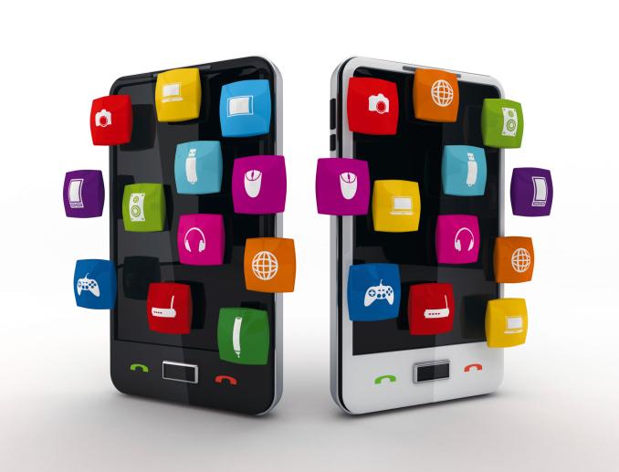 Smartphones touchscreen
