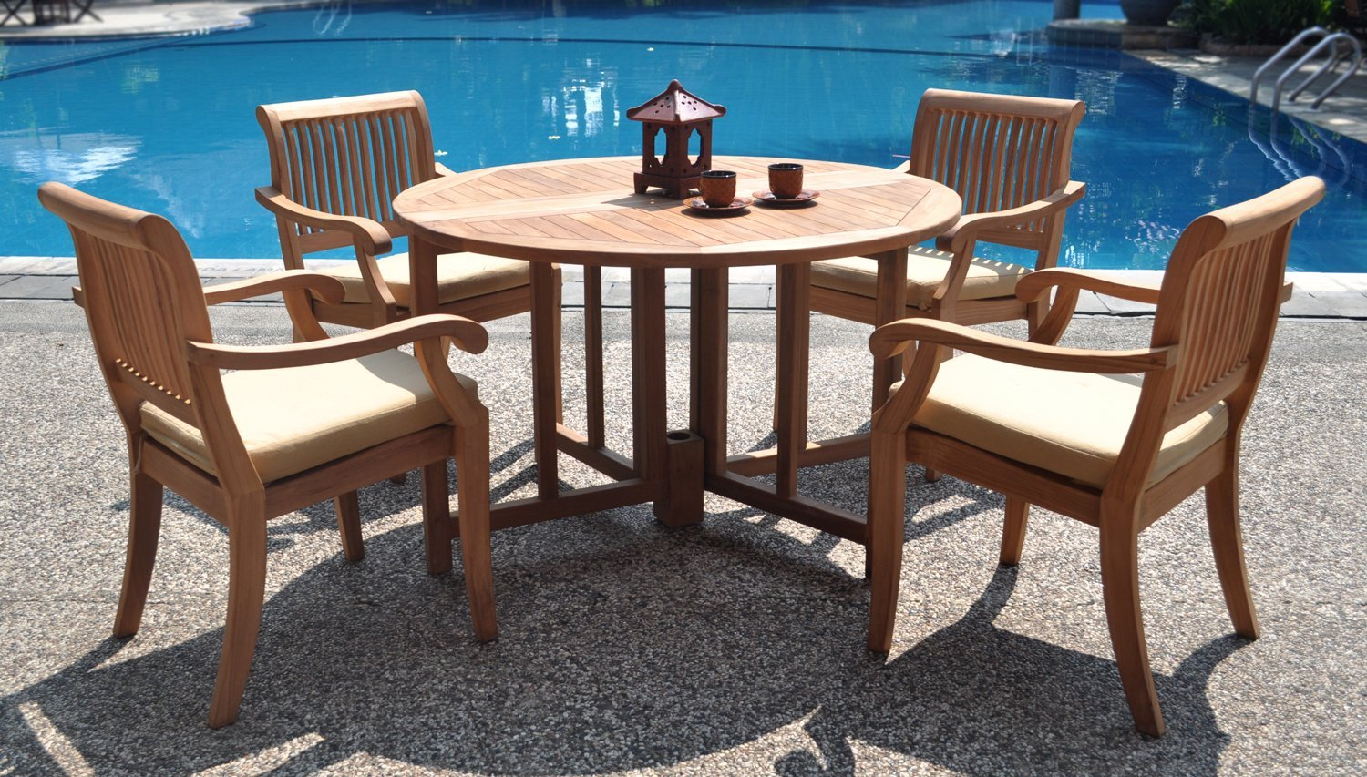 New Concrete And Teak Furniture To Dominate Outdoor Living Trends In 2016 Realtybiznews Real Estate News