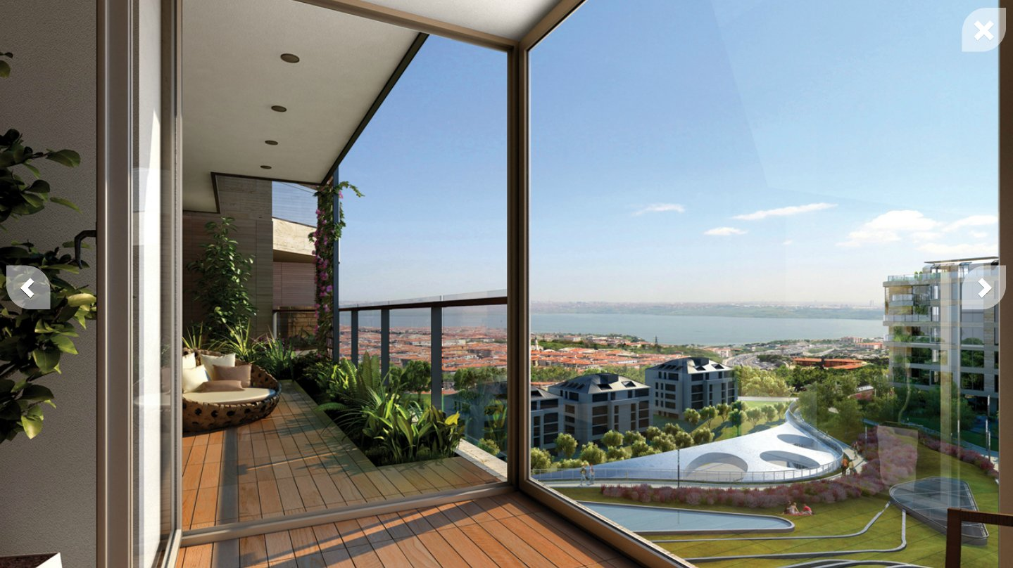Istanbul Penthouse View