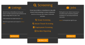 theRRD provides a newer, simplified way to carry out tenant screening