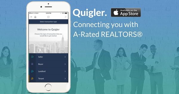 Quigler app revolutionizes transparency in real estate transactions