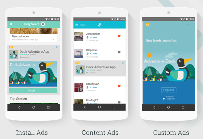 Native Ads for Apps in DoubleClick