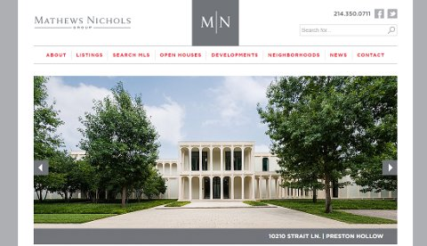 Mathews Nichols Group website