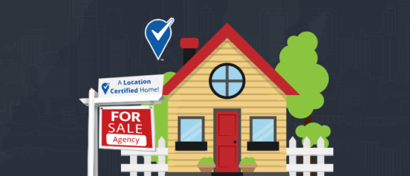 Using Location Certified to highlight a property's excellent location