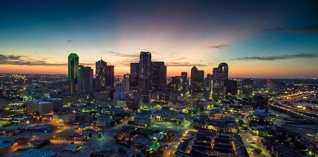 Dallas skyline - Daxis CC 2.0