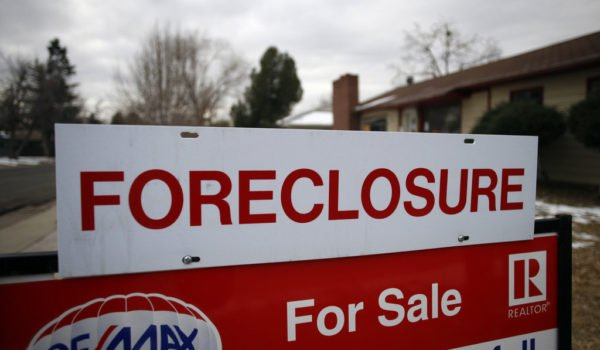 Why the sudden spike in foreclosures last month?