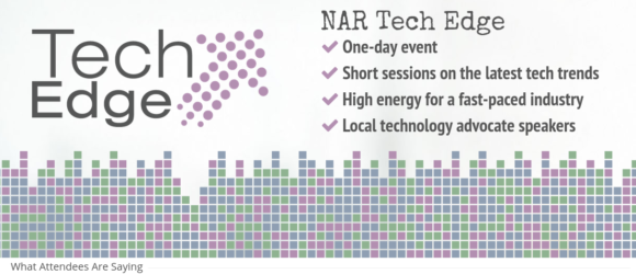NAR announces new Tech Edge Events for 2017