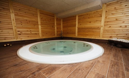 hot tubs and home value what to know about this. Black Bedroom Furniture Sets. Home Design Ideas