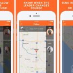 Follow app helps drivers to keep up with the car in front