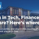 LinkedIn & Zillow identify where to live to have more disposable income