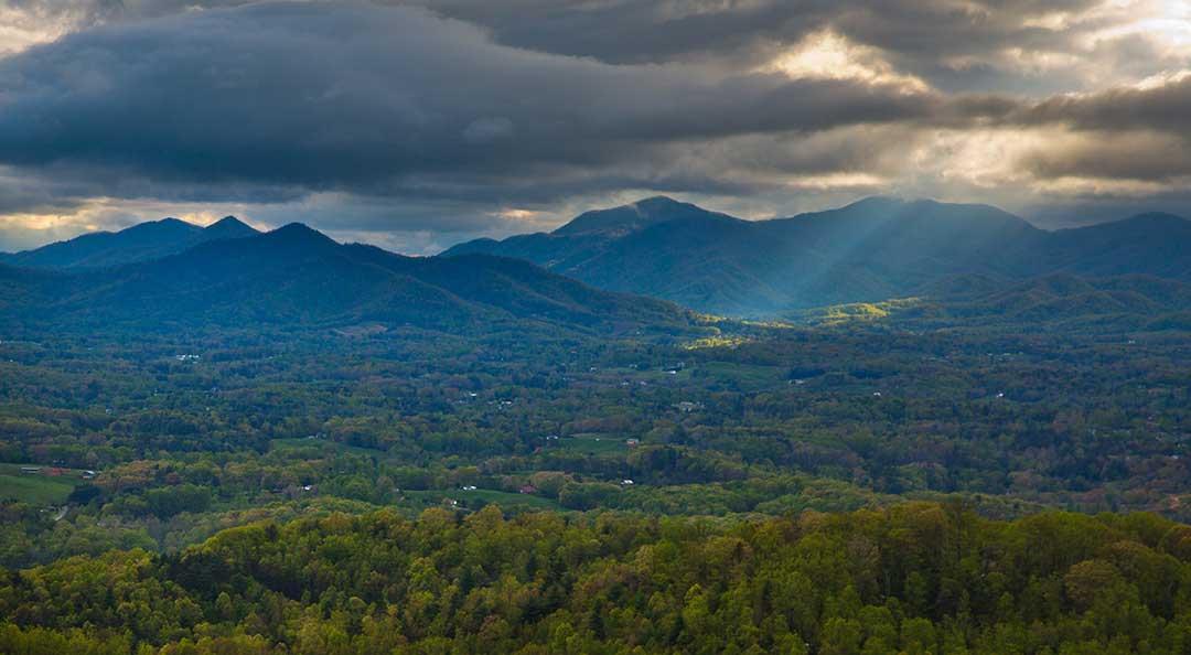 Serenity near Asheville, NC
