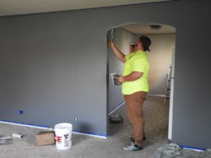 painting home for renovation