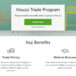 Houzz launches new trade program providing big discounts to home remodeling professionals