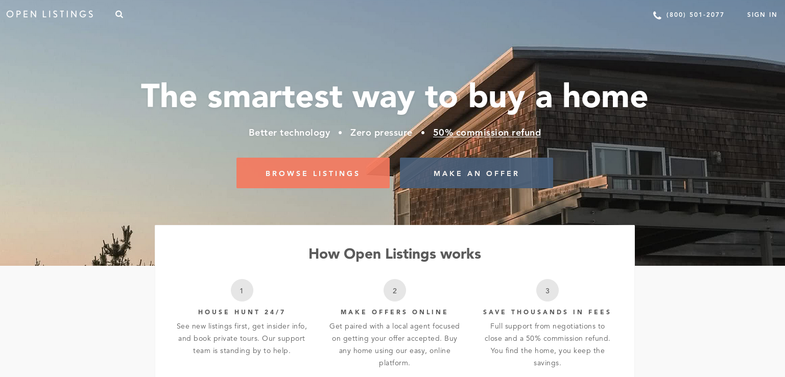 open listings raises 6 5m to help you buy a home without a real