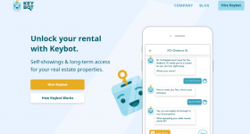Keybot's automated remote locking technology makes landlords' lives easier