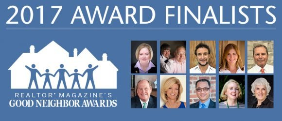 NAR announces 10 realtor finalists in annual Good Neighbor awards