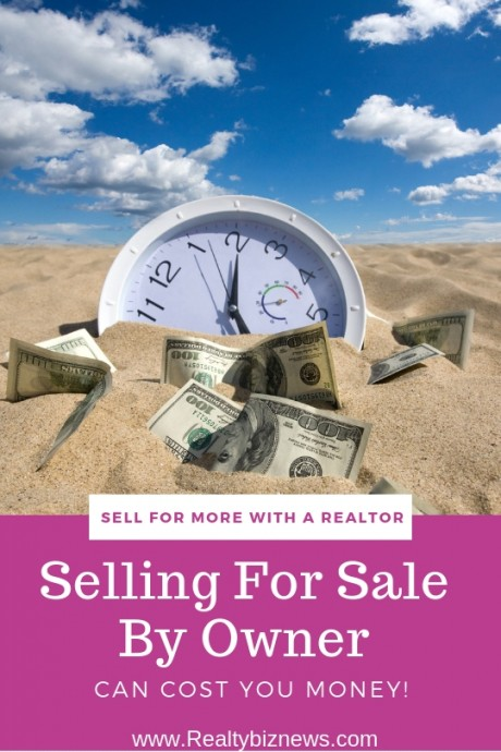 Selling a home without a real estate agent can cost you money - Selling your home without a realtor ...