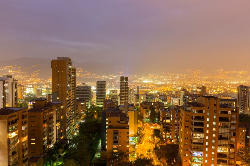 Medellin skylines