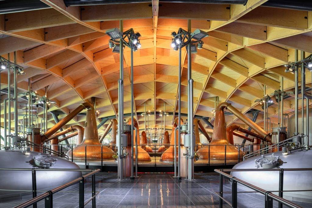 Inside the magnificent Macallan Distillery