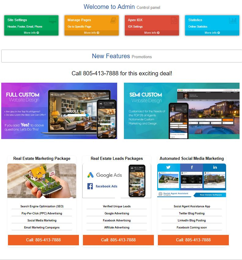Realty Tech new website for agents