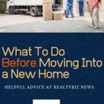 What to Do Before Moving Into a New House