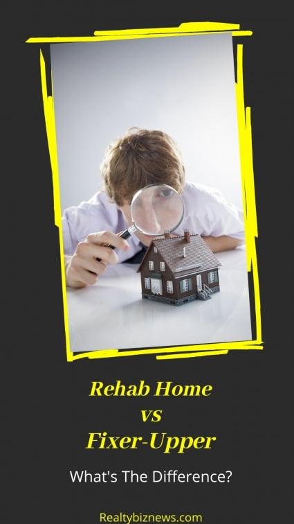 Rehab home vs Fixer-Upper