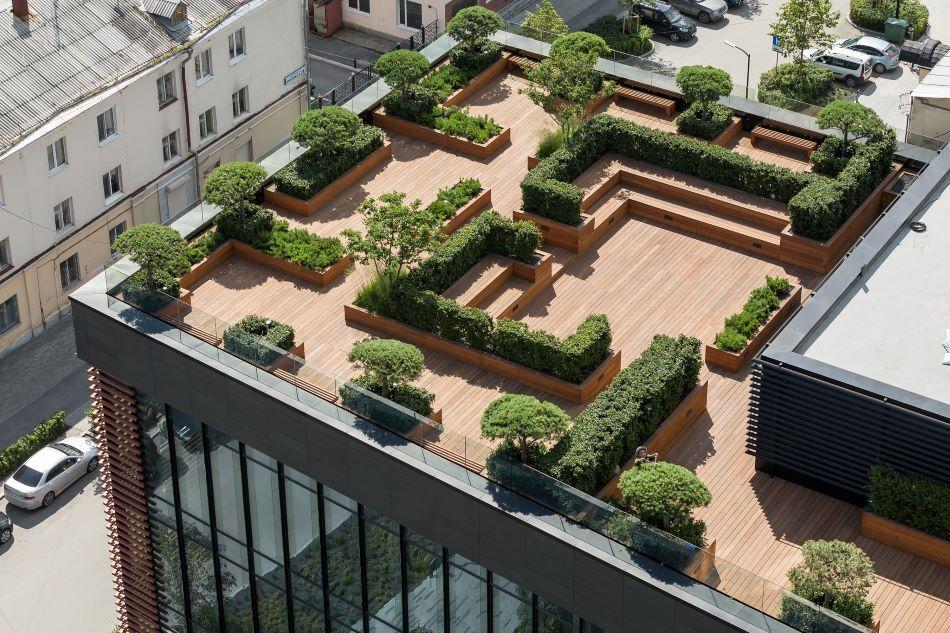 Kandinsky rooftop