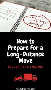 Tips to Prepare For a Long-Distance Move