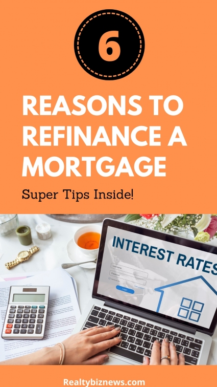 Reasons to Refinance a Mortgage