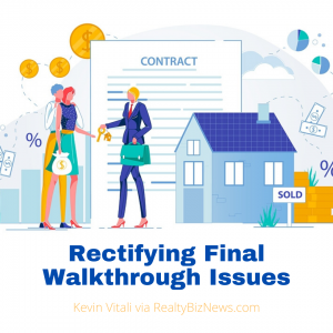 Rectifying Final Walkthrough Issues