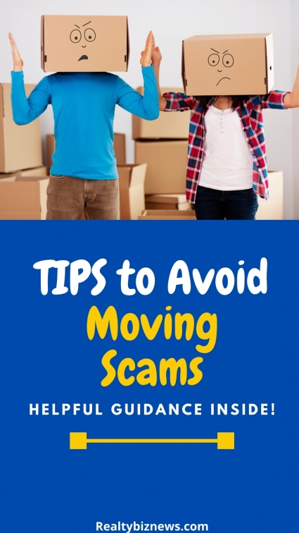 Tips for avoiding moving scams