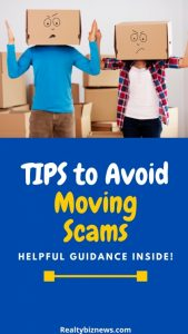 Tips to Avoid Moving Scams