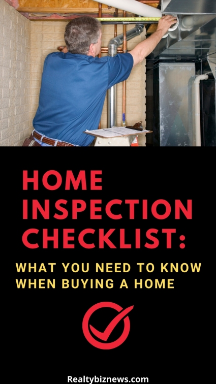 Checklist for House Inspections