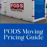 Moving With PODS Pricing Guide