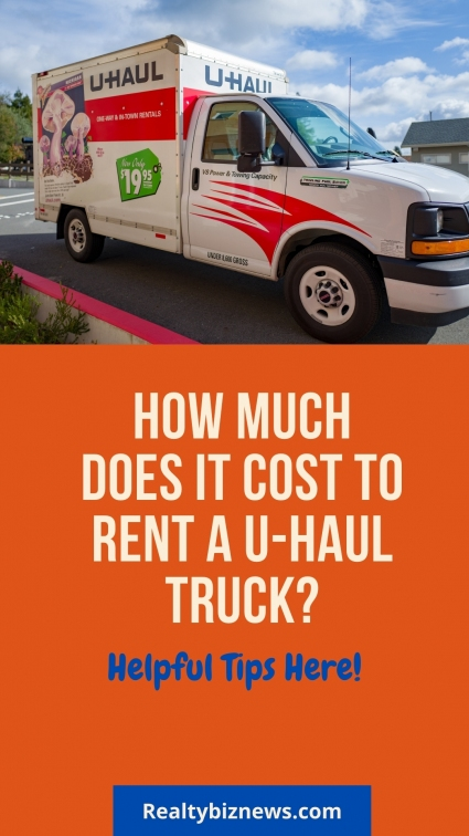 Cost to Rent a U-Haul Truck