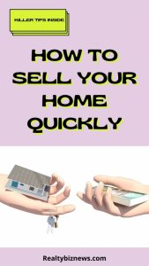 Sell a House Quickly