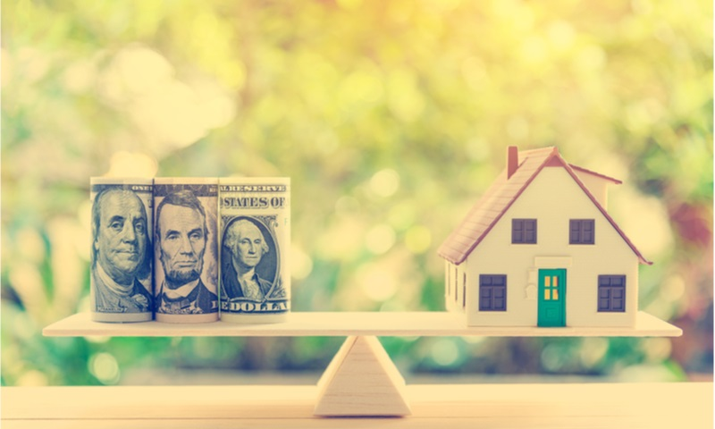 home loan reverse mortgage concept
