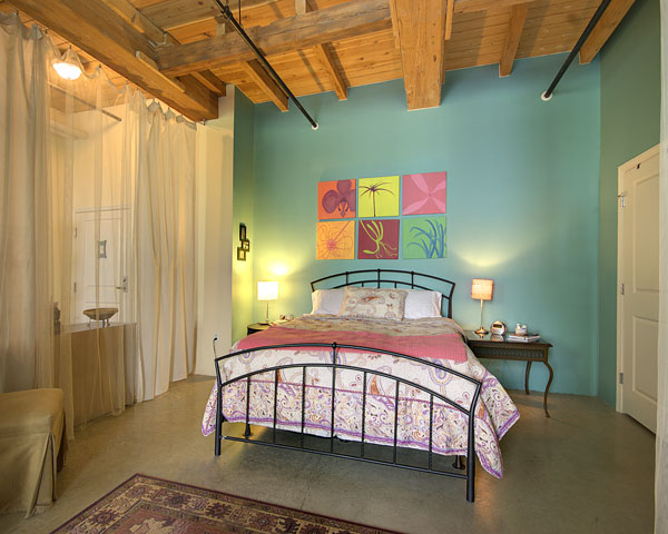 Bedroom in Rennaisance on the River Lowell MA