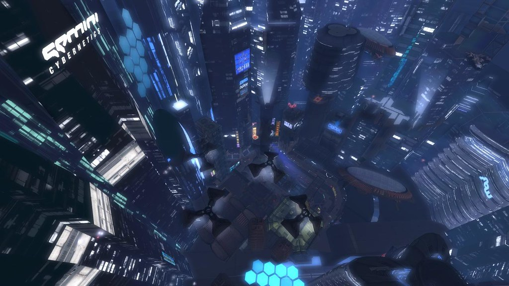 Dystopian high rises