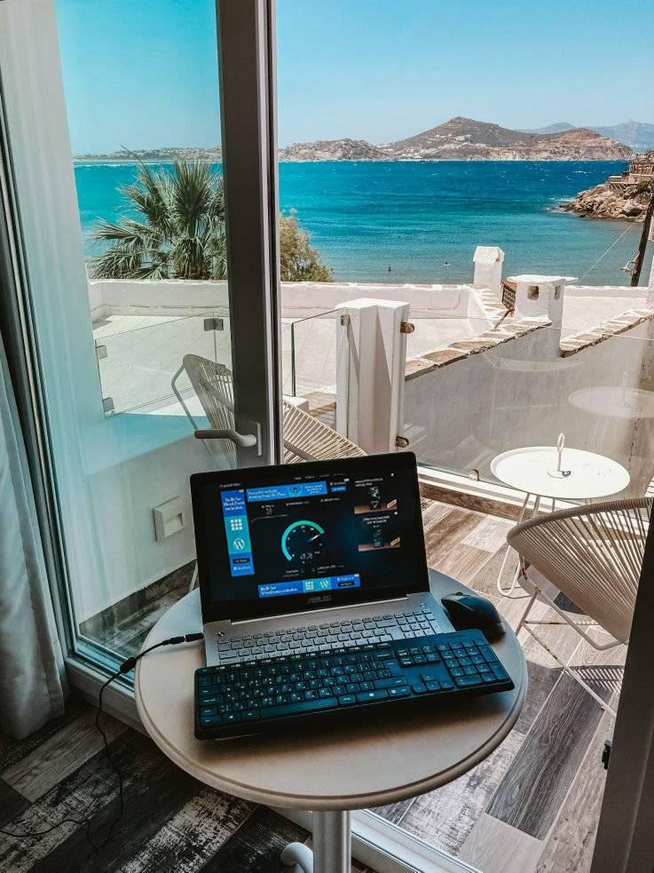 Working from Naxos
