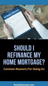 Refinancing a Home Mortgage