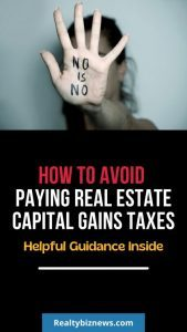 Real Estate Capital Gains Taxes
