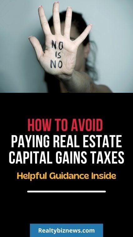 Real Estate Capital gains tax.